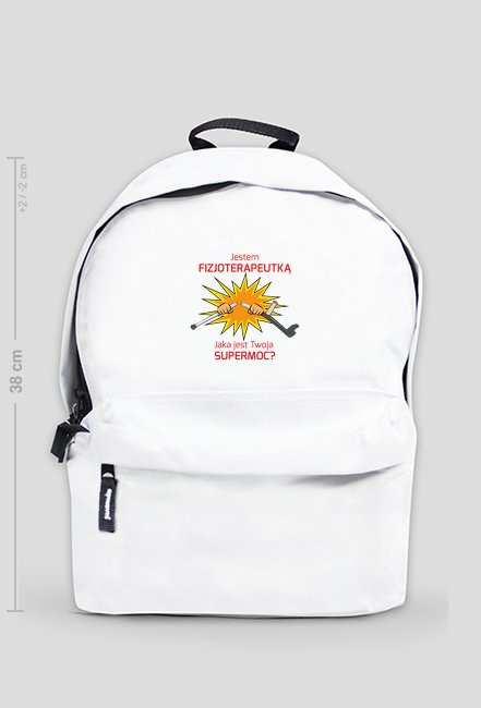 Plecak - jestem fizjoterapeutką