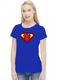 SuperMedyk - koszulka damska