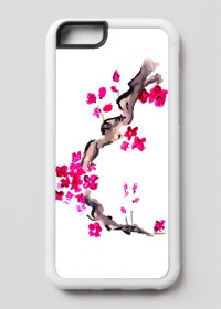 Etui Kwiaty Wiśni iPhone 6