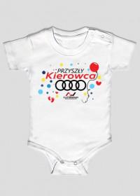 Przyszły kierowca baby Audi
