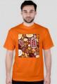 Jesienny t-shirt męski