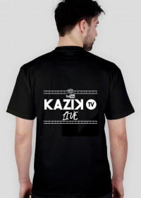 Koszulka męska LIVE Kazik.TV
