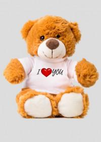 Miś I love you
