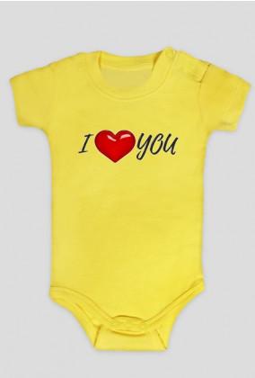 Body dla dzieci I love You