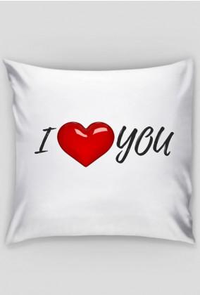 Poszewka na poduszkę I love You