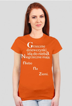 T-shirt with short sleeves with text 5