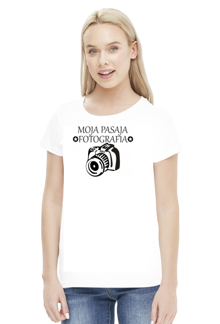 Koszulka damska ''Moja pasja fotografia''