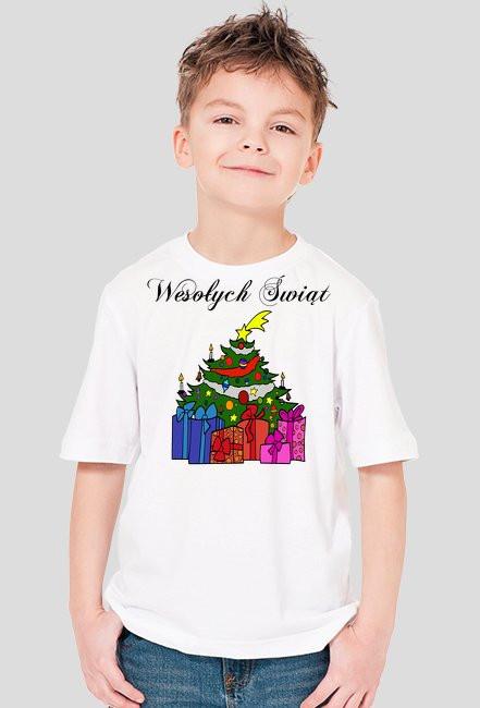 Koszulka dla Chłopca Świąteczna