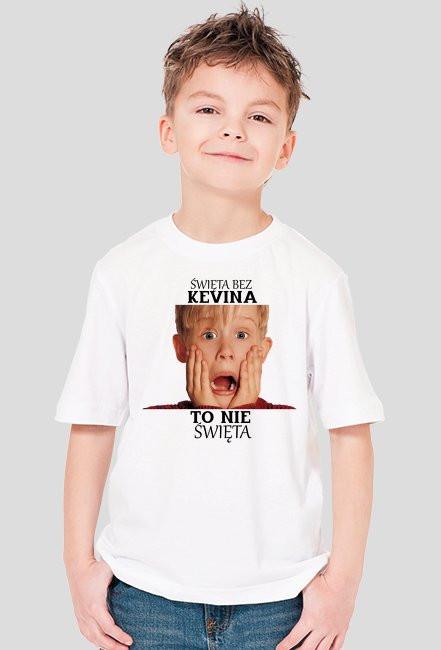 Koszulka dla Chłopca '' Święta bez Kevina to nie Święta ''