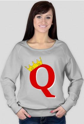 Queen in crown