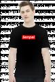 Senpai - Koszulka Otaku Męska