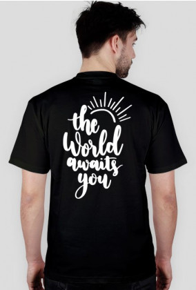 THE WORLD AWAITS YOU