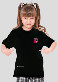 AniaPG Fun Art Gomez 30 - koszulka dla dziewczynki