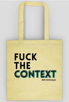 Rem Koolhas / F*CK THE CONTEXT