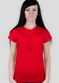 Winter person - koszulka damska kolor