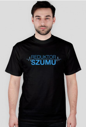 ReduktorSzumu koszulka czarna