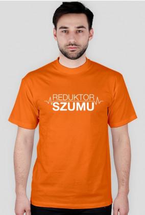 ReduktorSzumu koszulka biały nadruk