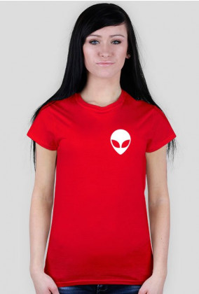 T-Shirt Damski Alien Multicolor