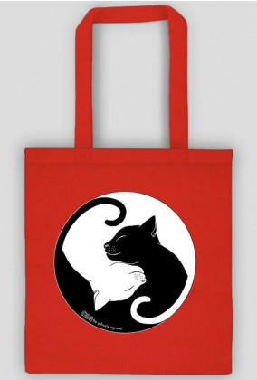 Koty - torba kolor/czarna