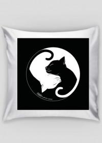 koty - poduszka