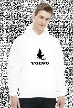 Bluza męska z kapturem Volvo Łoś