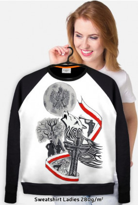 WOLF - Sweatshirt Ladies