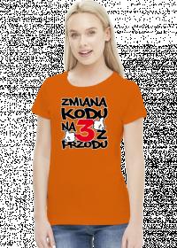 Koszulka damska - Urodziny 30 lat. Pada