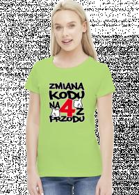 Koszulka damska - Urodziny 20 lat. Pada