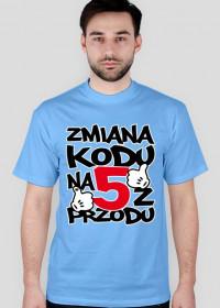 Koszulka męska - Urodziny 50 lat. Pada