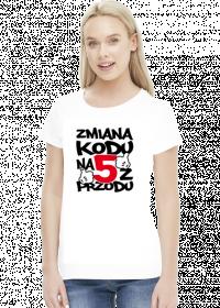 Koszulka damska - Urodziny 50 lat. Pada