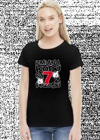 Koszulka damska - Urodziny 70 lat. Pada