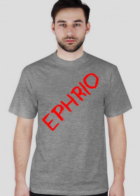Męska koszulka z logo (szara)