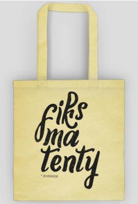 Fiksmatenty - torba na zakupy