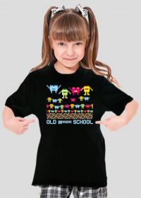 Koszulka dla dziewczynki - Old School. Pada