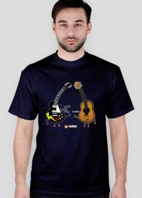 Koszulka męska - Rock & Roll. Pada