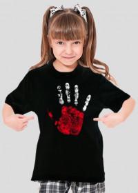 Koszulka dla dziewczynki - Polska. Pada