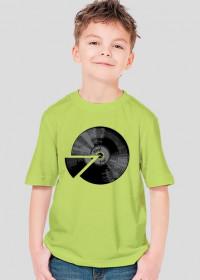 Koszulka dla chłopca - Winyl płyta. Pada