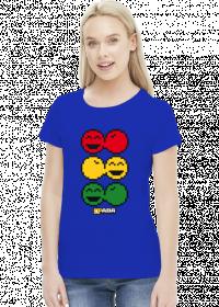 Koszulka damska - Reggae. Pada