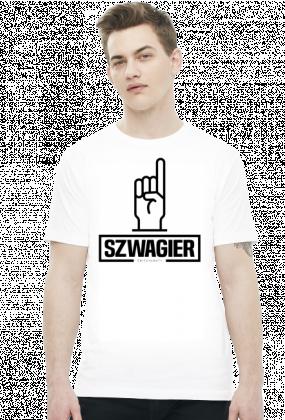 Szwagier koszulka biała