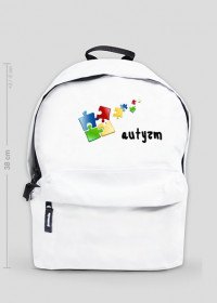 plecak autyzm kolorowe puzzle
