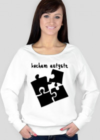 bluza damska puzzle czarne