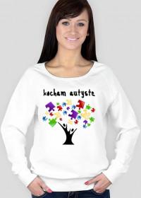 bluza damska drzewo puzzlowe