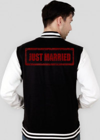 Just married bluza