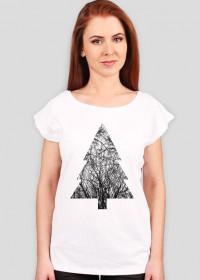 T-Shirt damski Pine Branches Petrichor