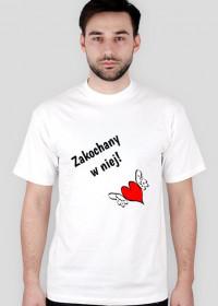 Zakochany w niej! koszulka