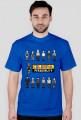 Pixel art – colorful personality – kolorowa osobowość (t-shirt, różne kolory)