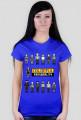 Pixel art – colorful personality – kolorowa osobowość (t-shirt damski, różne kolory)