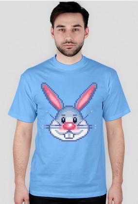 Pixel art – królik z pikseli