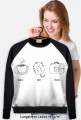 Coffee Cat Photos - bluza B/CZ