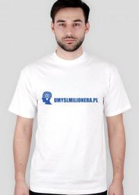 Koszulka logo umyslmilionera.pl